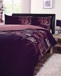 Duvet Cover Purple Mei Duvet Cover Set Purple King Size Sweetgalas