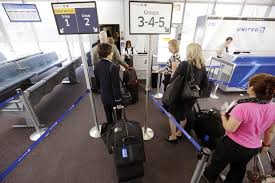 united checked bag carry on crackdown united enforces bag size limit the boston globe