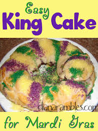 mardi gras king cake baby easy and best king cake recipe using refrigerated dough