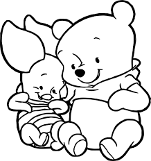 cute baby piglet winnie the pooh coloring page wecoloringpage