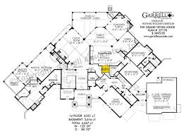 grand teton lodge house plan barrier free house plans
