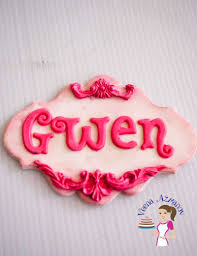 how to make easy fondant plaques and name tags for cakes veena