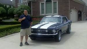 1967 Black Mustang 1967 Ford Mustang Coupe Classic Muscle Car For Sale In Mi Vanguard
