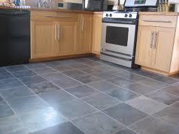 Rustic Oak Kitchen Cabinets Kitchen Amazing Kitchen Stone Flooring Ideas With Grey Natural