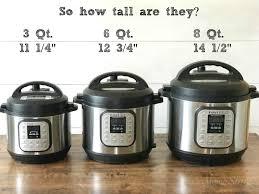 8 Pots by Goldilocks And The Three Instant Pots Mamashiremamashire