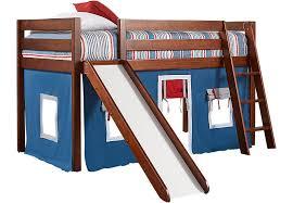 Slide For Bunk Bed Freedom Fort Cherry Jr Tent Loft Bed With Slide Bunk Loft Beds