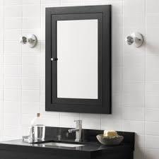 Black Mirror Bathroom Cabinet Black Medicine Cabinets You Ll Wayfair