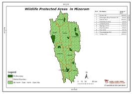 North India Map by Maps Of Protected Areas In India