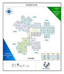 floor plan nirmal lifestyle olympia at mulund west mumbai