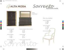 Sorrento Bedroom Furniture Sorrentobed In By Continental Furniture Ltd In Concord On