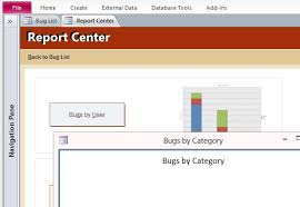 how to log and track bugs in microsoft access