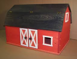 Toy Barns Wooden Play Farm Series Furniture Barn With Bottom Charlie U0027s