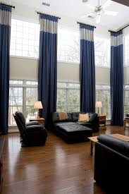 two story living room two story window treatments living room traditional with drapery