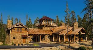 log cabin home designs rustic log cabin luxury defined in this rocky mountain getaway
