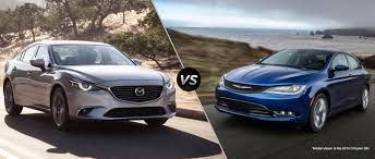 chrysler car 2016 2016 mazda 6 vs 2016 chrysler 200 mazda cars near birmingham al