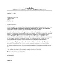 amazing travel consultant cover letter no experience 21 for your