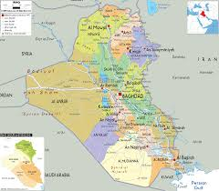 Map Of Syria Free Printable Maps by Download Map Of Iraq Major Tourist Attractions Maps