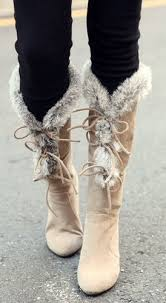 ugg heel boots sale best 25 fuzzy boots ideas on ugg boots on clearance