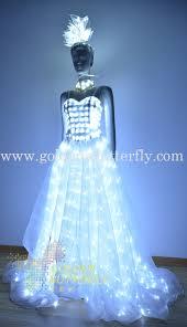 aliexpress com buy led wedding dress luminous suits light