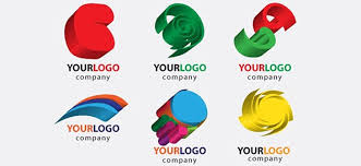 free 3d logo designs with colorful shapes free logo design templates