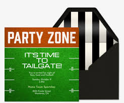 free birthday milestone invitations evite com tailgating party online free invitations evite com
