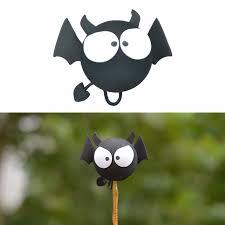 black bat car antenna topper aerial exterior trim