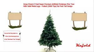 finest 6 premium artificial pine tree