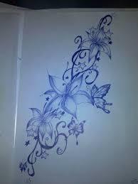 design tattoo butterfly tattoo design flowers butterflies by bibionxtc on deviantart