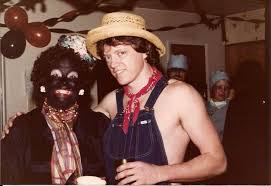 halloween party photo hillary clinton wears blackface at costume party
