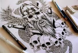 hussar warrior tattoo by eg thefreak on deviantart