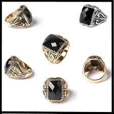 fashion mens rings images Mens fashion rings new arrival luxury mens ring gold silver plated jpg