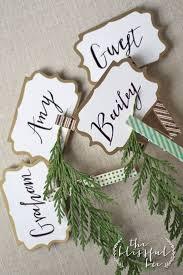 clothes pin place card holders place card holidays and cards
