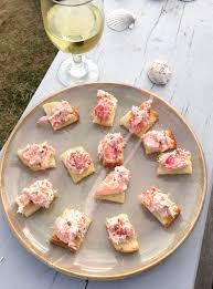 lobster roll appetizer bites