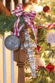 Christmas Decorations Banister Buffalo Check Plaid Christmas Tree The Happier Homemaker