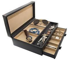 amazon com stock your home men u0027s dresser valet jewelry