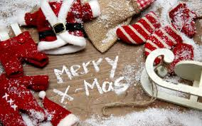 merry x mas written with white chalk wallpaper holiday