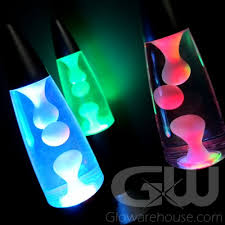 multi color lava l color changing led battery operated mini lava l glowarehouse com