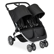 Bed Bath And Beyond Strollers Britax 2016 B Agile 3 Double Stroller In Black Bed Bath U0026 Beyond