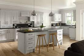 buckingham dove grey ash matt finish kitchen cabinet doors topdoors