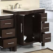 single sink vanity with drawers bathroom design 53 5 silkroad kimberly single sink cabinet