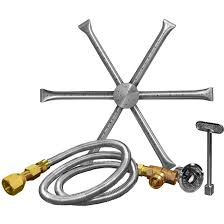 Firepit Burner Firegear 36 Inch Burning Spur Propane Gas Pit Burner Kit