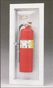 surface mount fire extinguisher cabinets larsen s vista series surface mounted fire extinguisher cabinets