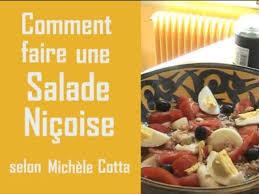 comment faire une cuisine cuisine comment faire une salade niçoise par michele cotta pratiks