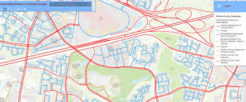 Road Map Virginia by Who Maintains Plows Your Road Check This Map Fairfax County