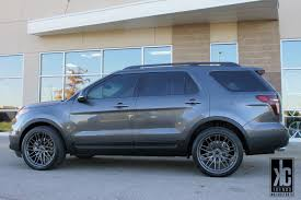 Ford Explorer Rims - kc trends showcase savini bm4 wheels in titanium finish
