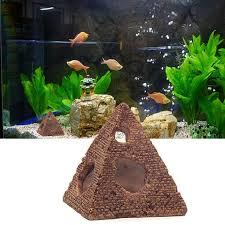 Aquarium Fish Tank Decorations Resin Crafts Mini Retro Barrel
