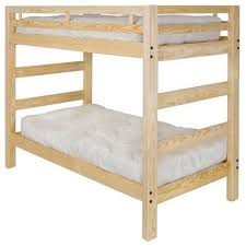 Pine Bunk Bed Pine Bunk Beds White Bed