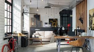 urban loft plans stylish exposed brick wall lofts