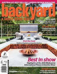 Backyard  Garden Design Ideas Magazine  Alison Douglas Design - Backyard and garden design ideas magazine