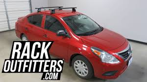 nissan versa trim levels nissan versa sedan with rhino rack vortex 2500 roof rack crossbars